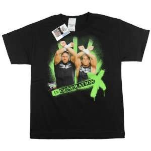 WWE   D Generation X T Shirt   Youth LARGE Everything