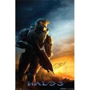 Halo 3 Halo3 Xbox 360 Game Logo & Dawn 2 Poster Set