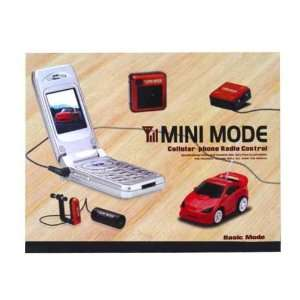 Nitro 3833 red Mini Mode Cell Phone Remote Control Car Toys & Games