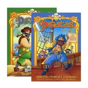 Piratas   Libro Para Colorear Y Actividades Case Pack 48