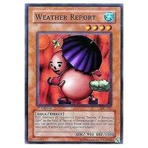 Yu Gi Oh   Weather Report   Magic Ruler   #MRL 020