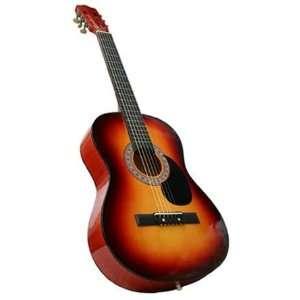 38 Sunburst Stain Acoustic Guitar