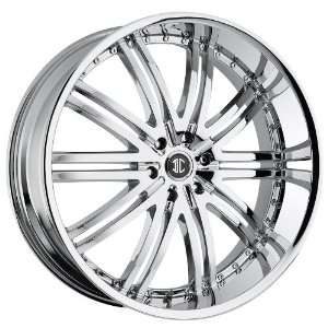 2CRAVE 11 wheels 24X10 Chrome Rims 4pc 1set Automotive