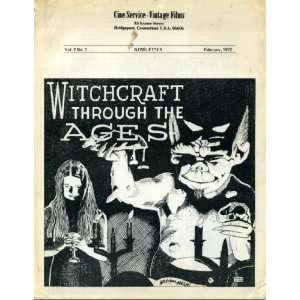Cine Service Vintage Films February 1972 Newsletter Vol. 2