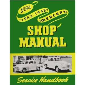 com 1942 1948 Ford Mercury Car Truck Service Shop Repair Manual Ford