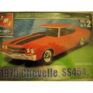AMT ERTL 1970 Chevelle SS454    125 Model Kit    RED
