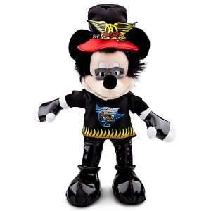 Aerosmith Rock & Roll Mickey Mouse Plush 13 Toys & Games