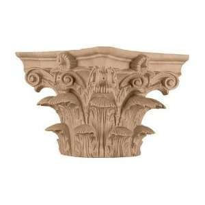 Roman Corinthian Capital for a 8â? Round Tapered Wood