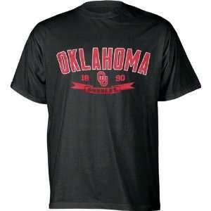 Oklahoma Sooners Black Cold Warhorse T Shirt