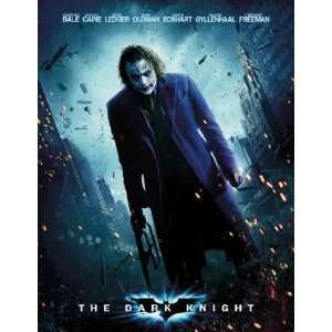 Dark Knight ~ Joker ~ Movie Poster ~ Heath Ledger(size 27