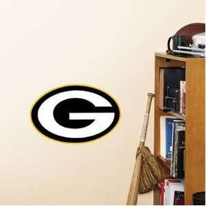 Green Bay Packers Logo 14 x 9 Teammate by Fathead: Sports & Outdoors
