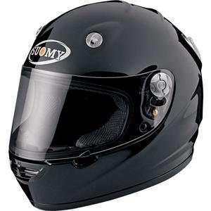 Suomy Vandal Solid Helmet   2X Large/Black Automotive