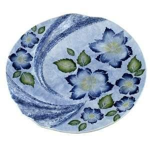 3468 001R Hand Painted Italian Ceramics, Blue Sky