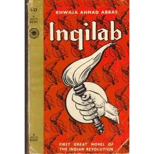 Inqilab (Jaico book): Khwaja Ahmad Abbas: Books