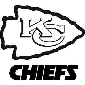 Kansas City Chiefs NFL Vinyl Decal Stickers / 4 X 3.5