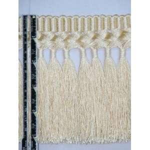 5 1/2 Silky Braid Tassel Bullion Fringe Trim Gold Per