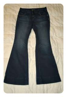 Mossimo Womens Dark Wash Flare Jeans sz 10
