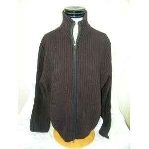 Republic Purple Mens Large Zip Sweater Wool 2203