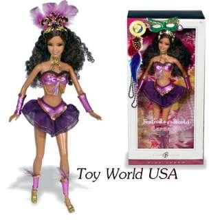 Barbie~DOTW~Festivals of the World~Carnaval Brazil Doll