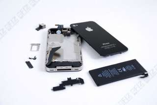 Complete Body Shell for iPhone 4 (Black) No Logic Board
