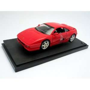 Ferrari F355 Berlinetta Diecast Car Model Red 1:18: Toys
