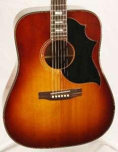 70s Gibson USA SJ Deluxe Acoustic Guitar Cherry Sunburst w/HSC