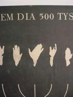 Requiem dla 500 Tysiecy   Original Polish Poster by Holdanowicz