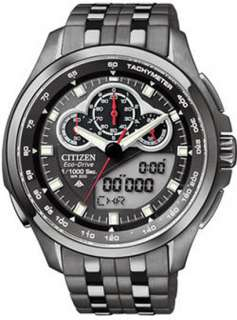 Citizen JW0097 54E Mens Watch Black Eco Drive Promaster