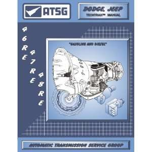 Manual 46RE 47RE 48RE Automatic Transmission Service Group Books