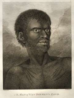 Capitaine James Cook Maori Tatouage Tasmanie Van Diemen Hawai Zelande