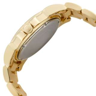 Invicta 0460 Angel Collection Stainless Gold Tone Mother of Pearl