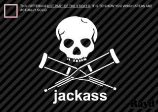 Jackass Sticker Decal Die Cut