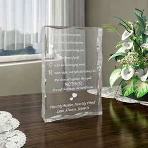 Personalized Mother Means Keepsake