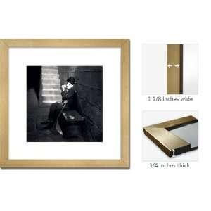 Gold Framed Charlie Chaplin Fine Art Lights Frppr45160