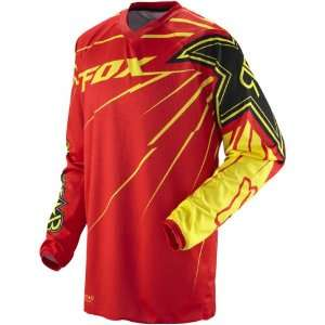 Road/Dirt Bike Motorcycle Jersey   Red/Yellow / X Large Automotive