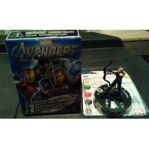Marvel Heroclix The Avengers Hawkeye #9 Counter Top