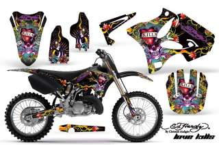 AMR GRAPHICS DECAL KIT YZ 125/250 YZ250 02 09 ED HARDY