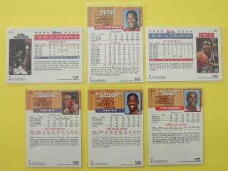 1993 Skybox NBA Hoops 5th Anniversary Card Assortment