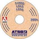 Ford 1345 1356 ATSG Techtran MANUAL on CD Repair Rebuild Transfer Case