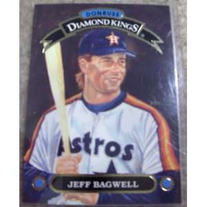 1992 Donruss Jeff Bagwell MLB Baseball Diamond Kings Card