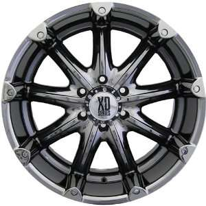 XD XD779 18x9 Black Chrome Wheel / Rim 8x170 with a  12mm Offset and a