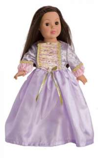Create Your Own Princess Doll 3 Dress Set Fits 18 Doll