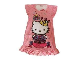 PINK hellokitty Girls Kids Fancy Night Dress M