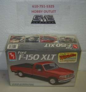 AMT/ERTL Plastic Model Kit 6809 FORD F 150 XLT PU 1/25 GMS CUSTOMS