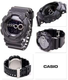 Casio G Shock World Time Alarm Chrono Digital GD100 1B