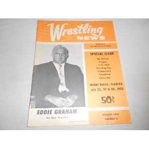 Wrestling News July 1970 Miami Beach Edition