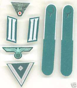 scale WWII German Army Infantry Rank/Insignia Set