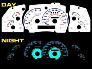 Ford Explorer Sport Trac 00 01 02 03 White Face Halo Glow Glowing