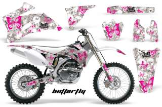 AMR RACING OFF ROAD BUTTERFLY GRAPHIC DECAL KIT YAMAHA YZ 250/450 F 06