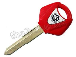 New Blank Key Fob Locks For Red Yamaha YZF Motorcycle F039
